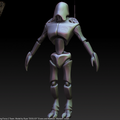 Combine Synth Soldier Model.