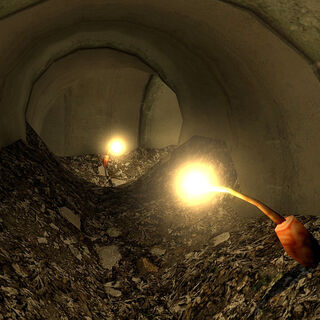 Light Stalks in the sewers under the <a href=