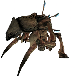 The Antlion Guard original skin.