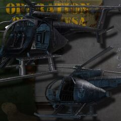 Black Ops Scout Helicopter.