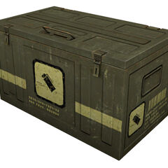 Infinite ammo crate for the <a href=