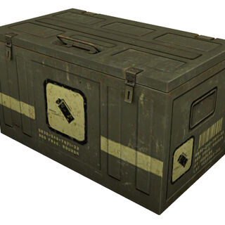Ammo crate model.