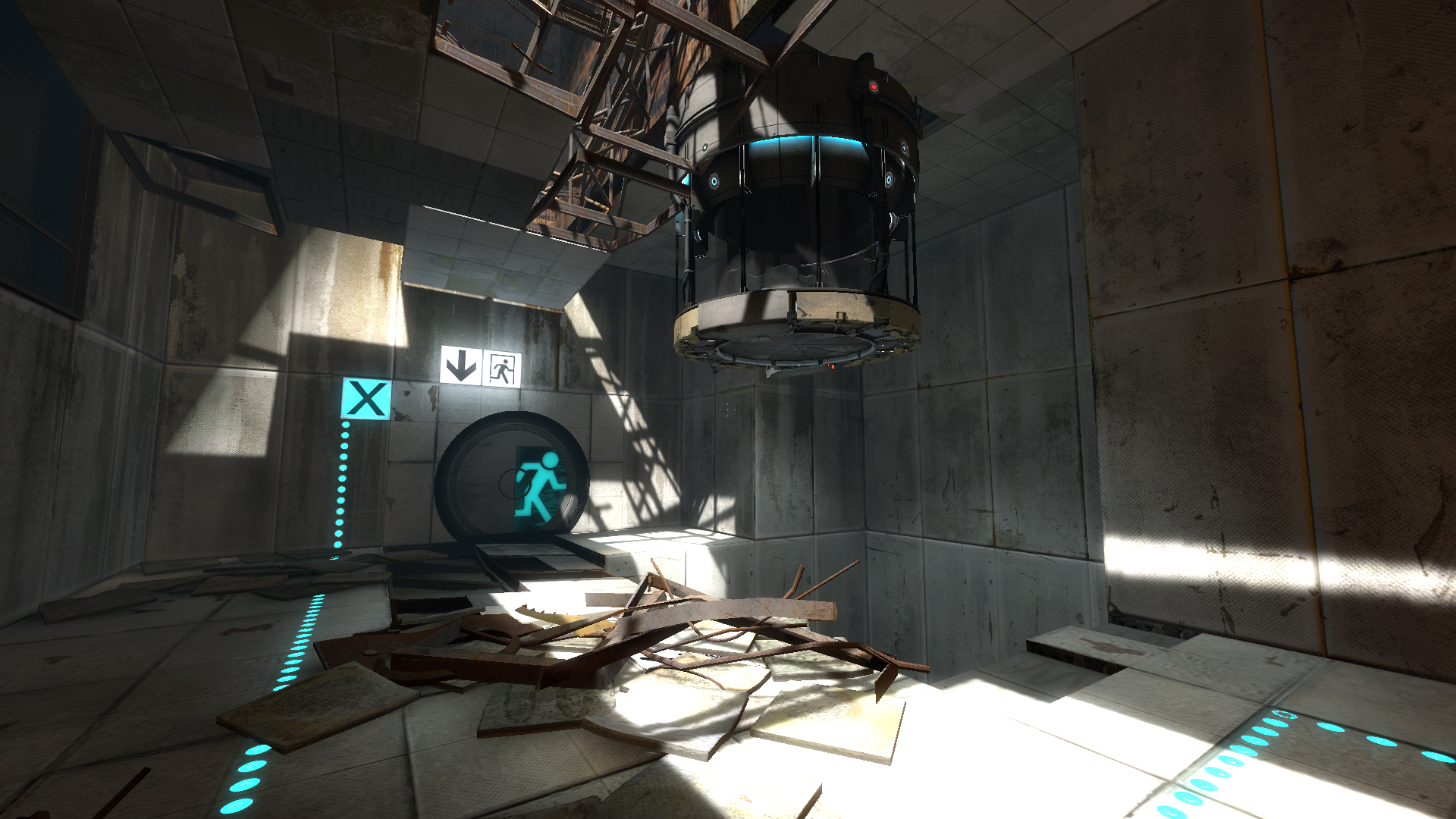 Portal 2 storyline half life wiki fandom powered by wikia a ruined test chamber 04 malvernweather Gallery