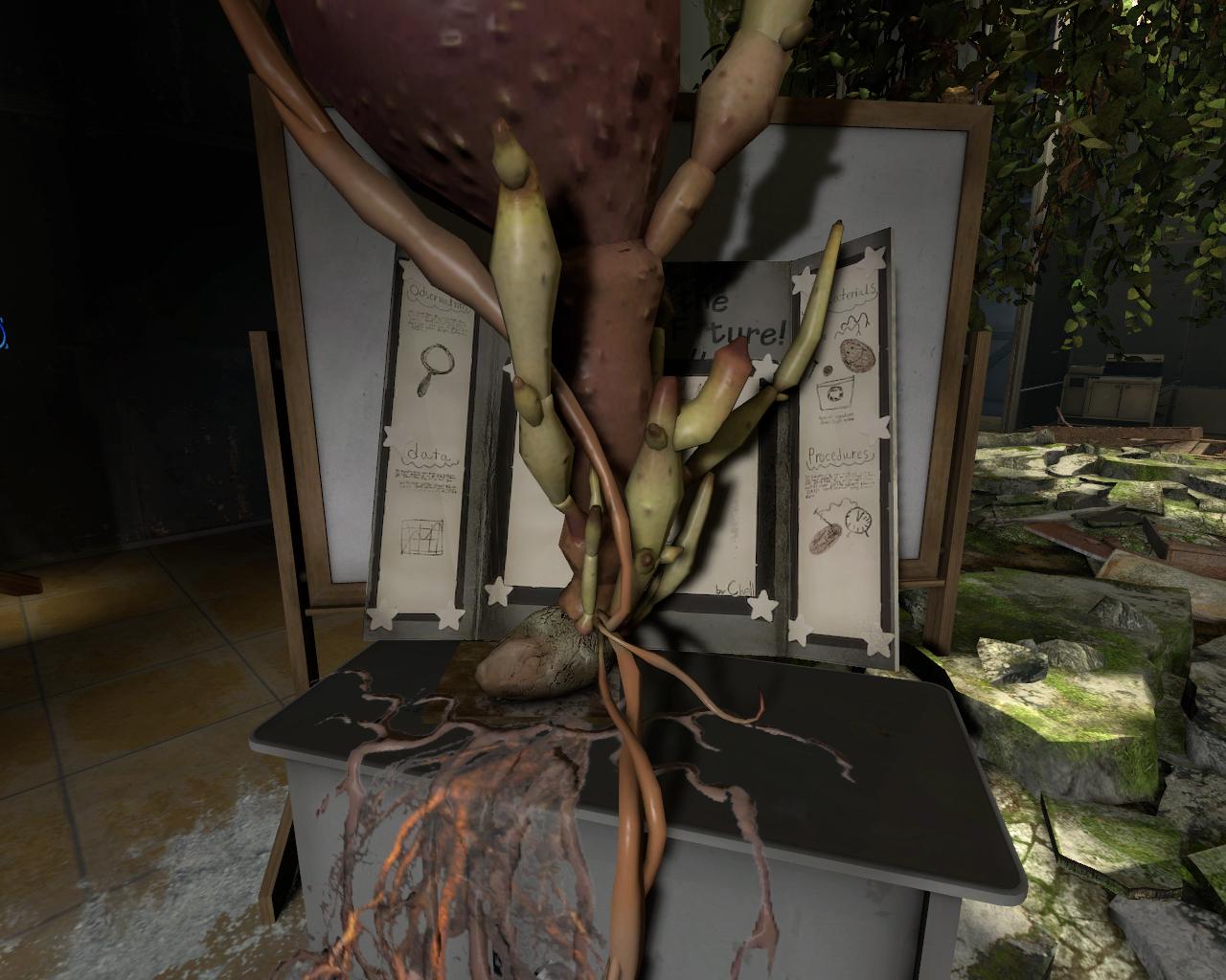 Forum:Daughter of Cave and Caroline? | Half-Life Wiki