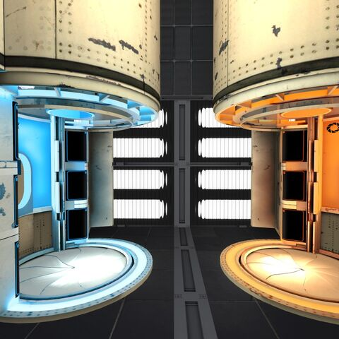 Disassembly units as seen from The Hub