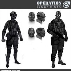 Black Ops Concept.