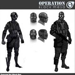 Black Ops Concept.
