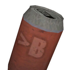 The red soda can from <i>Episode Two</i>.