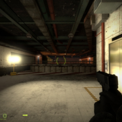 The Resistance underground base in Urban Chaos chapter screenshot.