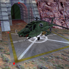 The Apache as seen at the start of <i>Half-Life</i>.