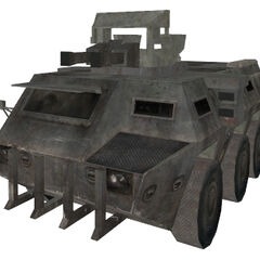 The cannon-mounted, triple axle brush VAB APC (with fixed textures).