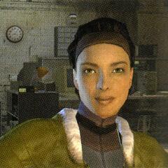 Ditto, used for the original <i>Half-Life 2</i> box art.