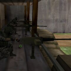 HECU soldiers using Machine Guns on the <a href=