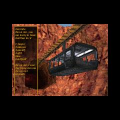 Black Mesa Transit System advertisement.
