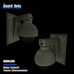 Security Wall Camera Model.