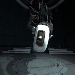 GLaDOS during the ending monologue.