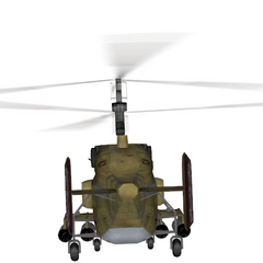 Backside of the Ka-27.