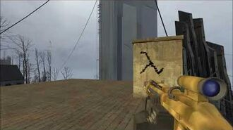Half Life 2 Beta - GR9 Heavy Machine Gun - All credit goes to Forrteroi
