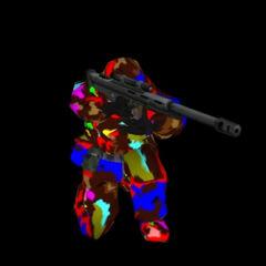 Kneeling Sniper Elite.