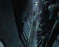 Depot pods train