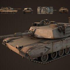 The M1A1 Tank.