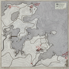 Map of the Coast, with the Vortigaunt Camp, unnamed, on the far left.
