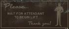 Underground attendant