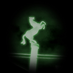 Texture found in the playable <i>Half-Life 2</i> Beta files, based on a screenshot of the horse statue on its column, originally used for the WC mappack maps