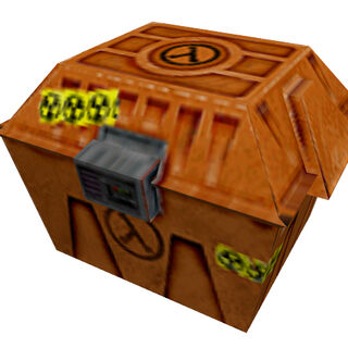 The Large Isotope Box, cut from <i>Half-Life</i>.