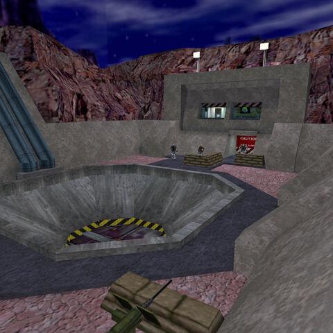 The rocket pit.