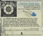 Underground repulsion