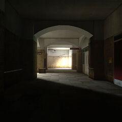Dark corridor.