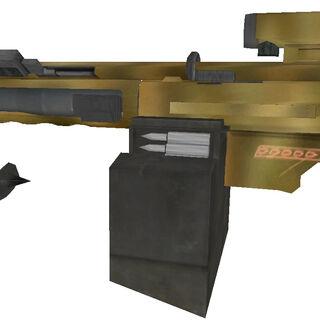 Heavy machine gun world model (Alternate version)