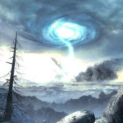 The Portal Storm starting.