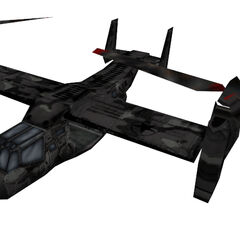 The Black Ops Osprey cut from <i>Opposing Force</i>.
