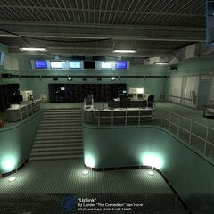Uplink Chapter in the Underground Facility Screenshot.
