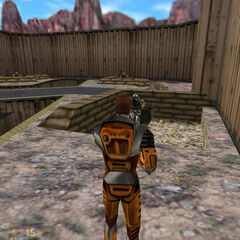 <i>Half-Life</i> in third person, achieved with the codes