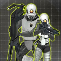 The Female and Male Sniper's selection image.