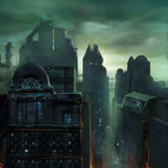 Early City 17 concept art.