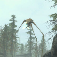 Strider during the White Forest battle in the second <i>Episode Two</i> teaser.