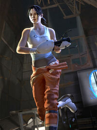 Portal 2 chell large