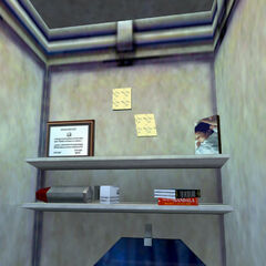Gordon Freeman's locker contents in <i>Half-Life</i>.