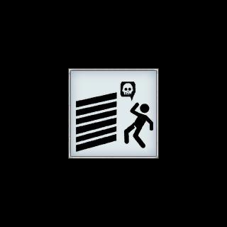 Laser Field sign.