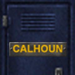 Barney's locker door.