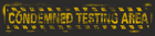 Underground condemed testarea