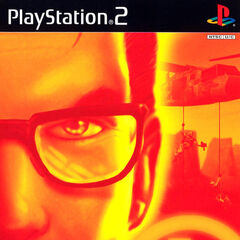 Gordon on <i>Half-Life'</i>s PlayStation 2 cover.