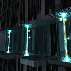 Generators in the Citadel's dark fusion reactor.
