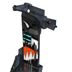 Reprogrammed Sentry Gun model.