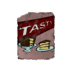 Cake poster found in the <a href=