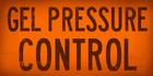 Gel pressure control orange